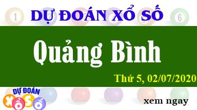 Dự Đoán XSQB – Dự Đoán Xổ Số Quảng Bình Thứ 5 ngày 02/07/2020