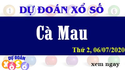 Dự Đoán XSCM – Dự Đoán Xổ Số Cà Mau Thứ 2 ngày 06/07/2020