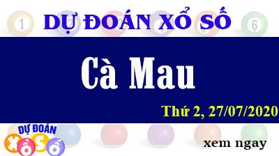 Dự Đoán XSCM – Dự Đoán Xổ Số Cà Mau Thứ 2 ngày 27/07/2020