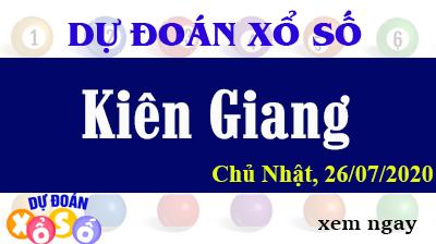 Dự Đoán XSKG – Dự Đoán Xổ Số Kiên Giang Chủ Nhật ngày 26/07/2020