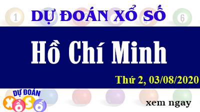 Dự Đoán XSHCM – Dự Đoán Xổ Số TPHCM Thứ 2 ngày 03/08/2020