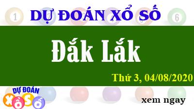 Dự Đoán XSDLK – Dự Đoán Xổ Số Đắk Lắk Thứ 3 ngày 04/08/2020