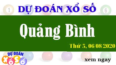 Dự Đoán XSQB – Dự Đoán Xổ Số Quảng Bình Thứ 5 ngày 06/08/2020