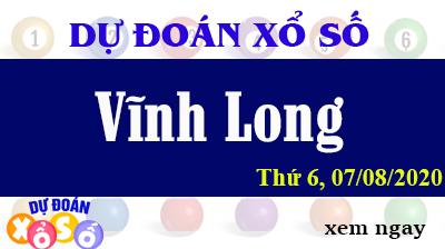 Dự Đoán XSVL – Dự Đoán Xổ Số Vĩnh Long Thứ 6 ngày 07/08/2020