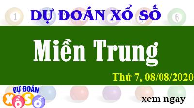 Dự Đoán XSMT - Soi cầu Xổ Số Miền Trung XSMT thứ  7 Ngày 08/08/2020