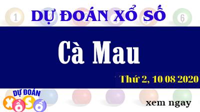 Dự Đoán XSCM – Dự Đoán Xổ Số Cà Mau Thứ 2 ngày 10/08/2020