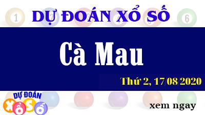 Dự Đoán XSCM – Dự Đoán Xổ Số Cà Mau Thứ 2 ngày 17/08/2020