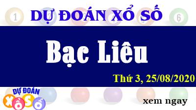 Dự Đoán XSBL – Dự Đoán Xổ Số Bạc Liêu Thứ 3 ngày 25/08/2020