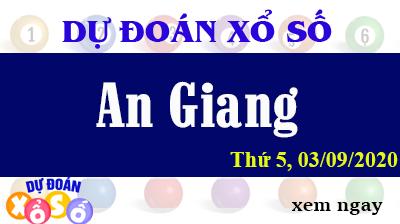 Dự Đoán XSAG – Dự Đoán Xổ Số An Giang Thứ 5 ngày 03/09/2020