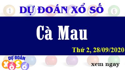 Dự Đoán XSCM – Dự Đoán Xổ Số Cà Mau Thứ 2 ngày 28/09/2020