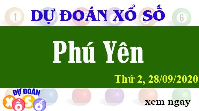 Dự Đoán XSPY – Dự Đoán Xổ Số Phú Yên Thứ 2 ngày 28/09/2020