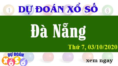 Dự Đoán XSDNA 03/10 – Dự Đoán Xổ Số Đà Nẵng Thứ 7 Ngày 03/10/2020