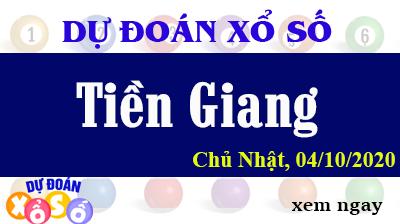 Dự Đoán XSTG 04/10 – Dự Đoán Xổ Số Tiền Giang Chủ Nhật ngày 04/10/2020