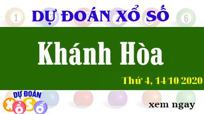 Dự Đoán XSKH – Dự Đoán Xổ Số Khánh Hòa Thứ 4 ngày 14/10/2020