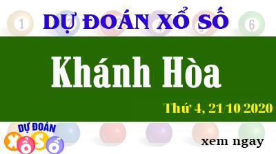 Dự Đoán XSKH – Dự Đoán Xổ Số Khánh Hòa Thứ 4 ngày 21/10/2020