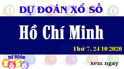 Dự Đoán XSHCM 24/10 – Dự Đoán Xổ Số TPHCM Thứ 7 ngày 24/10/2020