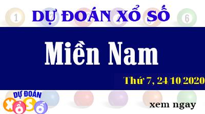 Dự Đoán XSMN 24/10 - Dự Đoán Xổ Số Miền Nam thứ 7 ngày 24/10/2020