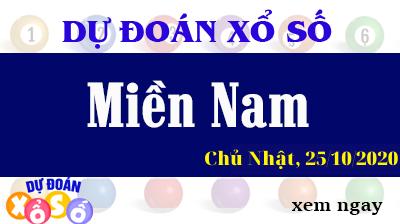 Dự Đoán XSMN 25/10 - Dự Đoán Xổ Số Miền Nam Chủ Nhật ngày 25/10/2020