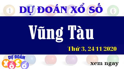 Dự Đoán XSVT – Dự Đoán Xổ Số Vũng Tàu Thứ 3 ngày 24/11/2020