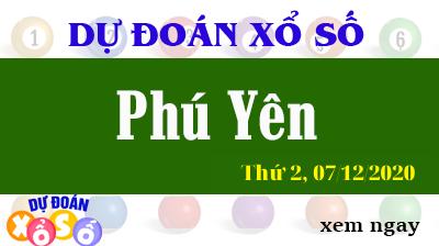 Dự Đoán XSPY – Dự Đoán Xổ Số Phú Yên Thứ 2 ngày 07/12/2020