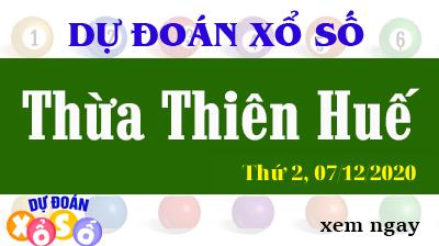 Dự Đoán XSTTH – Dự Đoán Xổ Số Huế Thứ 2 ngày 07/12/2020