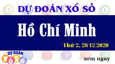 Dự Đoán XSHCM – Dự Đoán Xổ Số TPHCM Thứ 2 ngày 28/12/2020