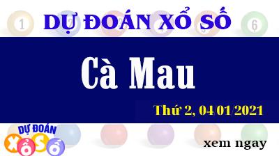 Dự Đoán XSCM – Dự Đoán Xổ Số Cà Mau Thứ 2 ngày 04/01/2021