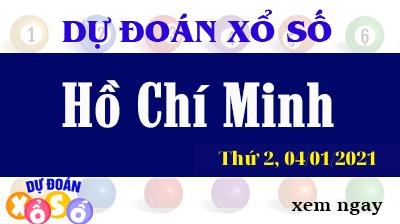 Dự Đoán XSHCM – Dự Đoán Xổ Số TPHCM Thứ 2 ngày 04/01/2021