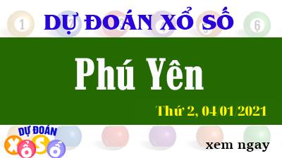 Dự Đoán XSPY – Dự Đoán Xổ Số Phú Yên Thứ 2 ngày 04/01/2021