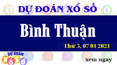 Dự Đoán XSBTH – Dự Đoán Xổ Số Bình Thuận Thứ 5 ngày 07/01/2021