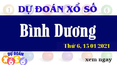 Dự Đoán XSBD – Dự Đoán Xổ Số Bình Dương Thứ 6 ngày 15/01/2021