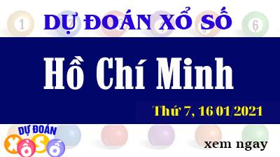 Dự Đoán XSHCM  – Dự Đoán Xổ Số TPHCM Thứ 7 ngày 16/01/2021