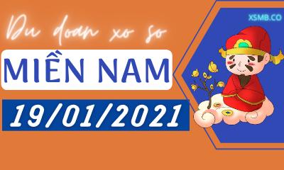 Dự đoán XSMN 19/01 - Dự Đoán Xổ Số Miền Nam Thứ 3 Ngày 19/01/2021