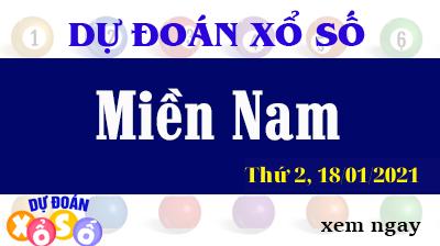 Dự Đoán XSMN 18/01/2021 - Soi Cầu Kết Quả Xổ Số miền nam Thứ 2