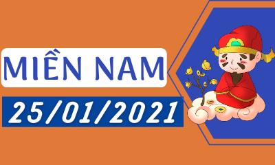 Dự đoán XSMN 25/01 - Dự Đoán Xổ Số Miền Nam Thứ 2 Ngày 25/01/2021