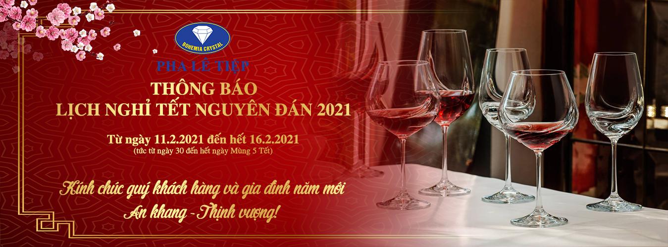 qua tang pha le thong bao nghi Tet 2021