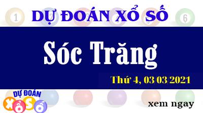 Dự Đoán XSST – Dự Đoán Xổ Số Sóc Trăng Thứ 4 Ngày 03/03/2021