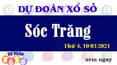 Dự Đoán XSST – Dự Đoán Xổ Số Sóc Trăng Thứ 4 Ngày 10/03/2021
