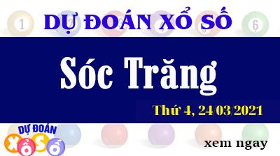 Dự Đoán XSST – Dự Đoán Xổ Số Sóc Trăng Thứ 4 Ngày 24/03/2021