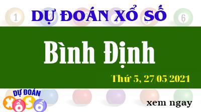 Dự Đoán XSBDI Ngày 27/05/2021 – Dự Đoán KQXSBDI Thứ 5