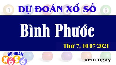 Dự Đoán XSBP Ngày 10/07/2021 – Dự Đoán KQXSBP Thứ 7