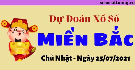 Dự Đoán XSMB Ngày 25/07/2021 - Dự Đoán Kết Quả XSMB Chủ Nhật