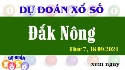 Dự Đoán XSDNO Ngày 18/09/2021 – Dự Đoán KQXSDNO Thứ 7