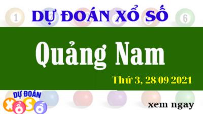 Dự Đoán XSQNA Ngày 28/09/2021 – Dự Đoán KQXSQNA Thứ 3