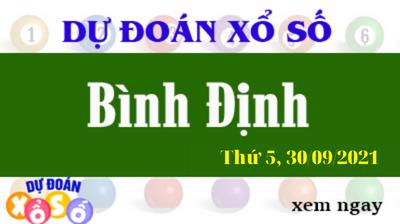 Dự Đoán XSBDI Ngày 30/09/2021 – Dự Đoán KQXSBDI Thứ 5