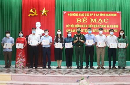 be giang lop boi duong kien thuc quoc phong an ninh cho can bo doi tuong 3 huyen hai hau nam 2021.