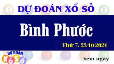 Dự Đoán XSBP Ngày 23/10/2021 – Dự Đoán KQXSBP Thứ 7