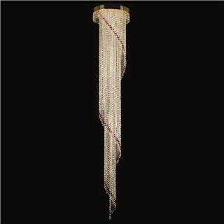 Đèn trần SPIRAL 400X2300 RED CE