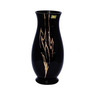 Lọ hoa pha lê màu đen