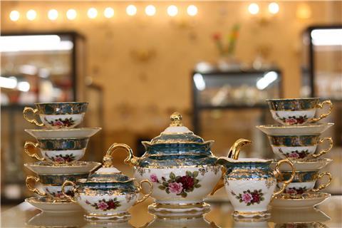 Bộ bình trà sứ nhập khẩu FR CS ZL CE